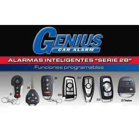 Alarma Carro Genius,muchos Estilos De Controles,playsound