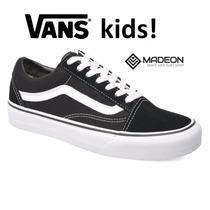 Zapatillas Vans Old Skool Kids! Envios!