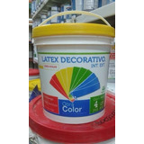 Latex Decorativo 4lt Blanco Obra Color