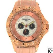 Reloj Techno Com Hombre 20 Diamantes Acero Inoxidable Sp0