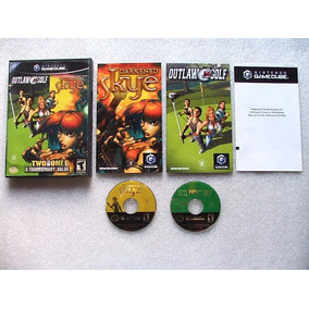 Game Cube: Out Law Golf + Darkened Skye Americano Completo!!