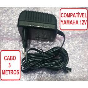 Fonte Teclado Yamaha Psr-180 Especial 2a Plug 90 Graus