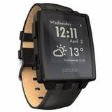 Smartwatch Pebble Steel Black Mate Nuevo En Caja Entrega Inm