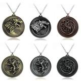1 Collar Game Of Thrones De Stark Y Targaryen Juego Tronos