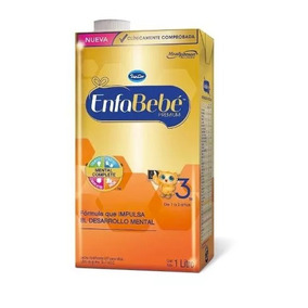 Enfabebe Premium 3 Leche 1 Litro 1a3 Años.