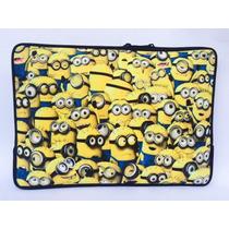 Capa Case P/ Notebook Minions Luva Personalizada 15