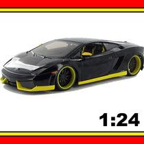 Carrinho Allstars Lamborghini Gallardo Lp 560-4 1:24 Maisto