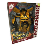 Transformer Robot Auto Camaro Bumblebee Gigante 36 Cm Nenes