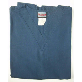 Uniformes Clínicos Reciclados / Chaqueta Lisa - Azul Marino