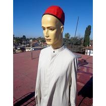 Religion Gorro Rojo Purpura Negro Reversible Y Camisa Lote