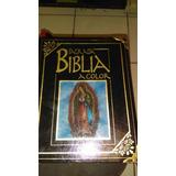 Sagrada Biblia A Color Seminueva Grande