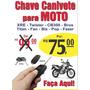 Chave Canivete Para Motos Honda Todas