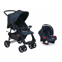 Carrinho At6 Netuno + Bebê Conforto Burigotto Preço 2 Em 1