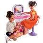 Salao De Beleza Infantil Completo Com Banquinho E Espelho