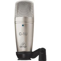 Micrófono Para Estudio De Condensador Con Usb Behringer C1u