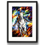 Quadro Cowboy Pop Art Cavalo Country Rs1 Decor Sala Paspatur