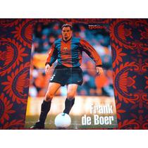 Poster Frank De Boer Barcelona 1999 Solo Goles