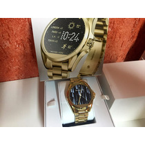 Michael Kors Mk Access Smartwatch Dourado Mk 5001 Lancamento