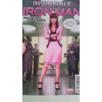 Comic Invensible Iron Man Portada Variante