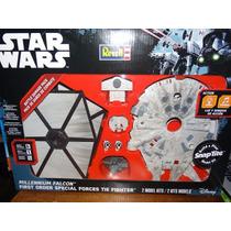Star Wars Naves Armables Tie Fighter Halcón Milenario