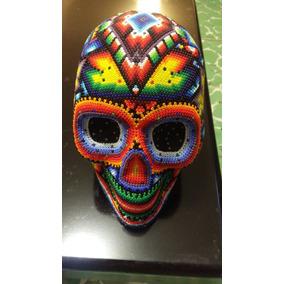 Cráneos De Arte Huichol