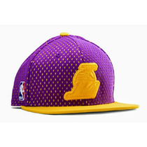 Gorra Adidas Originals Lakers De Los Angeles Snapback Nueva