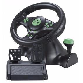 Volante 4 Em 1 Js075 Xbox360/ps3/ps2/pc Com Marcha Acoplada