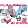 Cajita Dulcero Personalizada Diseño Cakepop Fiesta Caja