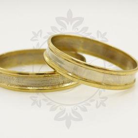 Alianzas Oro 18k 3 Grs El Par -anillos Compromiso-casamiento