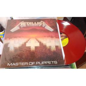 Metallica Master Of Puppets Raro Lp Vinilo Rojo Nuevo
