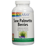 Saw Palmetto Organico. 580 Mg, 360 Capsulas. Solaray Usa