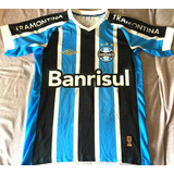 9fa79f5573 Jogo Uniforme Futebol Dellerba 56 - Camisa Grêmio no Mercado Livre ...