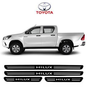 Soleira Porta Super Protetoras Toyota Hilux 06 2005 Á 2017