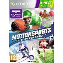 Motionsports Xbox 360 Kinect Mídia Física Original Lacrado