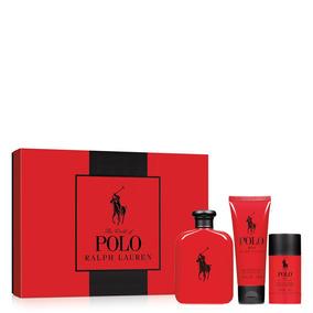 Polo Red Eau De Toilette Ralph Lauren - Kit Masculino