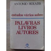 Estudos Vários Sobre Palavras Livros Autores Antonio Houaiss
