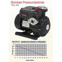 Pressurizador Bomba Tqc 200 Fluxostato+ Barato