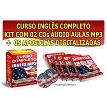 Curso De Inglês Completo - Apostilas + Audio + Brinde