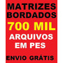 700 Mil Matrizes Bordados Pes Brother - Download + Brindes