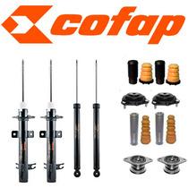 Kit 4 Amortecedores Ecosport + Kits + Coxim Axios - Cofap