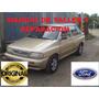 Manual De Taller Y Reparacion De Ford Festiva