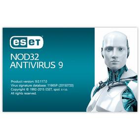 Licencia Eset Nod32 Antivirus V9 1 Año X 3 Pc