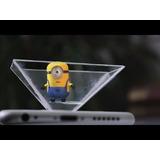 Proyector Display3d Holograma Celular Smartphone Agnovedades