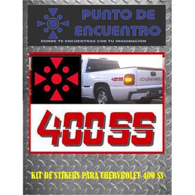 Sticker Vinil Boss 400ss P/chevrolet Silverado,cheyenne,etc