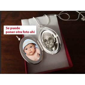 Relicario En Librito Para 2 Fotos Cadena Incluida! Premium!