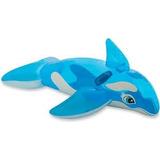 Ballena Orca Inflable Flotador Niños Intex Piscina 58523