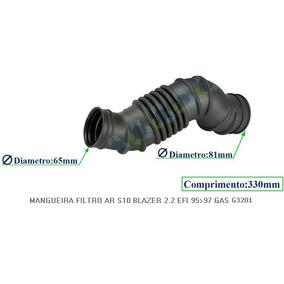 Mangueira Do Filtro De Ar S10 Blazer 2.2 Efi 95/97 Gasolina