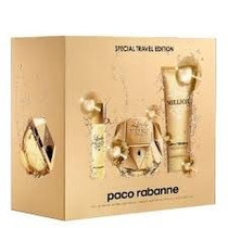 Kit Perfume Lady Million Edp 80ml +hidratante 100ml + 10 Ml