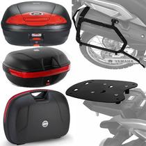 Kit Yamaha Tenere 250 Suportes Baus Givi E450n E360n Monokey