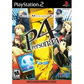 Shin Megami Tensei Persona 4 - Ps2 - Mídia Física Original